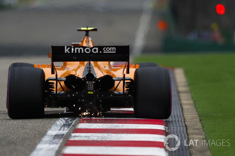 13 місце — Стоффель Вандорн, McLaren. Умовний бал — 7,331