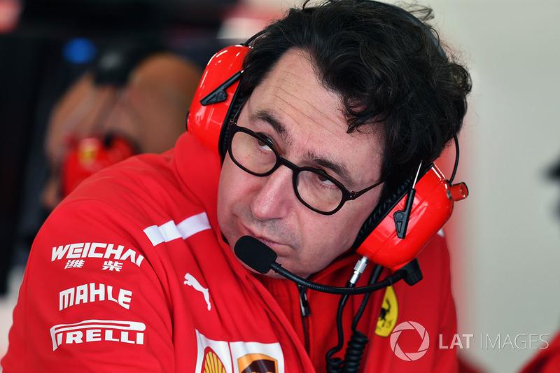 Mattia Binotto, Ferrari Teknik Şefi
