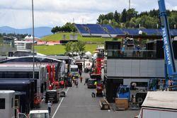 Red Bull Ring paddock