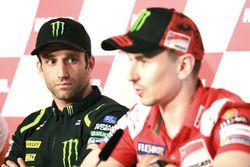 Press Conference, Johann Zarco, Monster Yamaha Tech 3, Jorge Lorenzo, Ducati Team