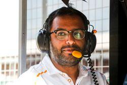 Randeep Singh, Head of Race Strategy, McLaren