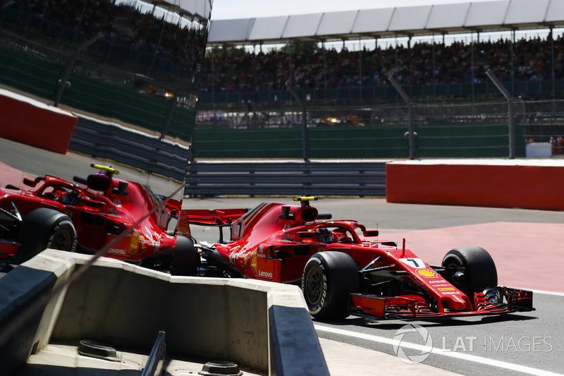 А ведь это второе столкновение Ferrari и Mercedes за последние три гонки...