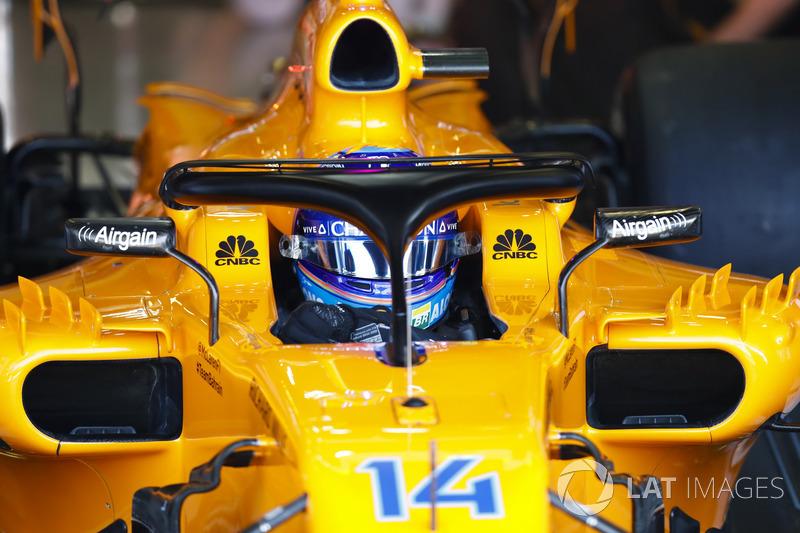 P8: Fernando Alonso, McLaren MCL33