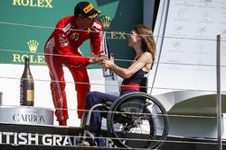 Kimi Raikkonen, Ferrari y Nathalie McGoin