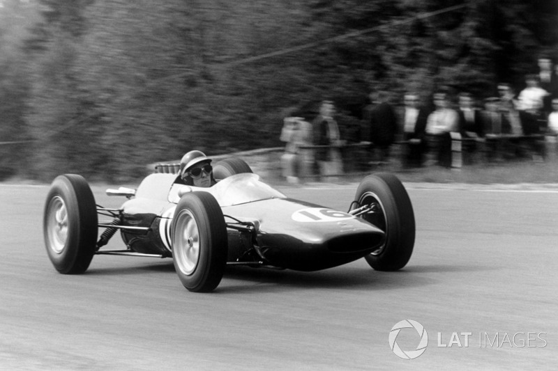 Jim Clark: venceu o GP da Bélgica de 1962 do 12º lugar no grid.