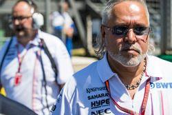 Vijay Mallya, Team Principal et directeur général, Force India