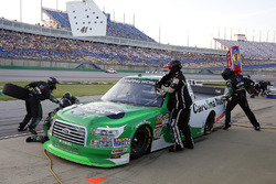 Ben Rhodes, ThorSport Racing, Ford F-150 Alpha Energy Solutions pit stop
