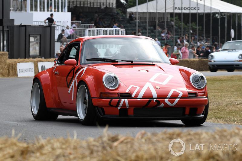 Desfile Porsche