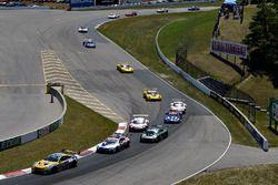 #96 Turner Motorsport BMW M6 GT3, GTD: Robby Foley, Bill Auberlen, #24 BMW Team RLL BMW M8, GTLM: John Edwards, Jesse Krohn