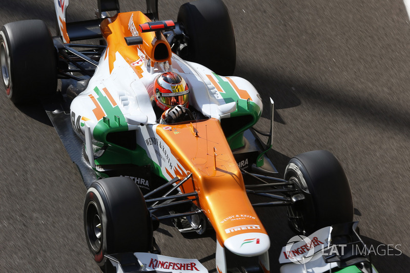 Ficha por Force India como reserva