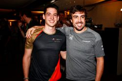 Cem Bolukbasi, Fernando Alonso, McLaren in the E-Sports arena