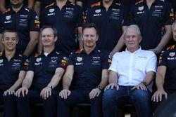 Paul Monaghan, Red Bull Racing Chief Engineer, Christian Horner, Red Bull Racing Team Principal and