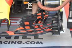 Red Bull Racing RB13, dettaglio dell'ala anteriore