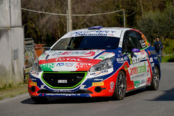 Tommaso Ciuffi, Niccolo Gonnella, Peugeot 208 R2, Jolly Racing Team