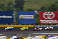 Brandon Jones, Joe Gibbs Racing, Toyota Camry Toyota Menards Jeld-Wen and Christopher Bell, Joe Gibbs Racing, Toyota Camry Rheem