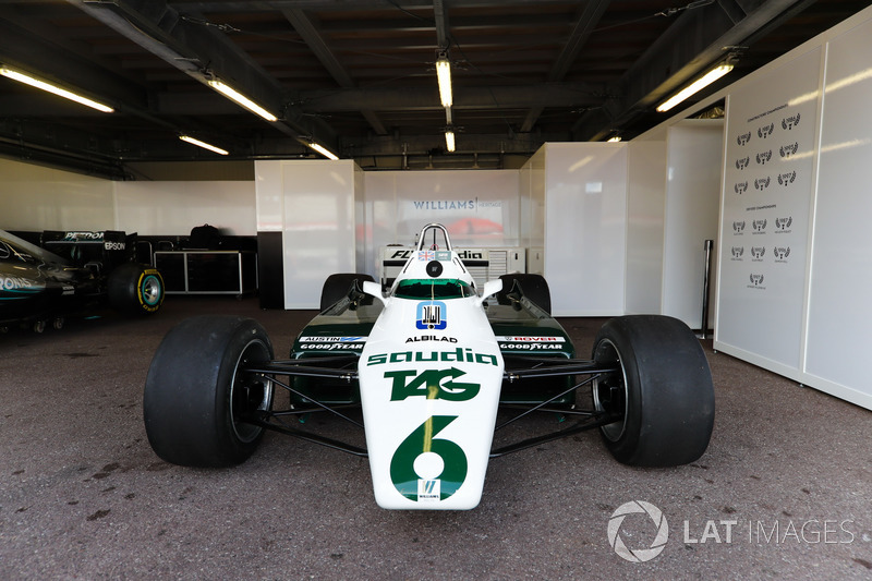 El Williams FW08 Ford Cosworth 1982 de Keke Rosberg