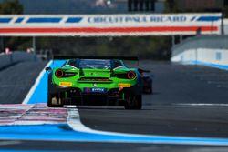 #488 Rinaldi Racing, Ferrari 488 GT3: Pierre Ehret, Sam Taheri, David Perel, Rob Smith. Rick Yoon