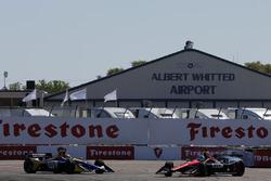 Robert Wickens, Schmidt Peterson Motorsports Honda ve Alexander Rossi, Andretti Autosport Honda ilk