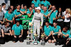 Racewinnaar Nico Rosberg, Mercedes
