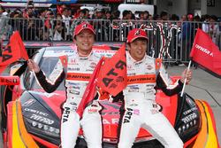 Race winners #8 Autobacs Racing Team Aguri Honda NSX Concept GT: Tomoki Nojiri, Takuya Izawa