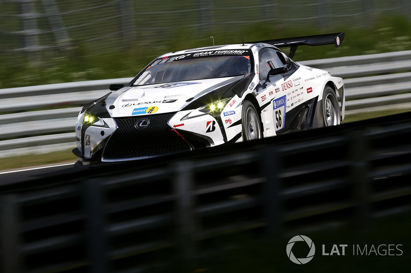 #56 Toyota Gazoo Racing Lexus LC: Takeshi Tsuchiya, Takamitsu Matsui, Yuichi Nakayama, Naoya Gamou