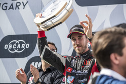 Podium: tweede plaats Esteban Guerrieri, ALL-INKL.COM Münnich Motorsport Honda Civic Type R TCR