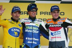 Podyum: Yarış galibi Sete Gibernau, Honda, 2. Max Biaggi, Honda, 3. Alex Barros, Repsol Honda
