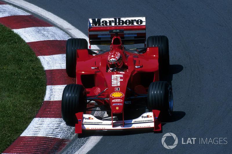 2000年:ミハエル・シューマッハー(フェラーリ)