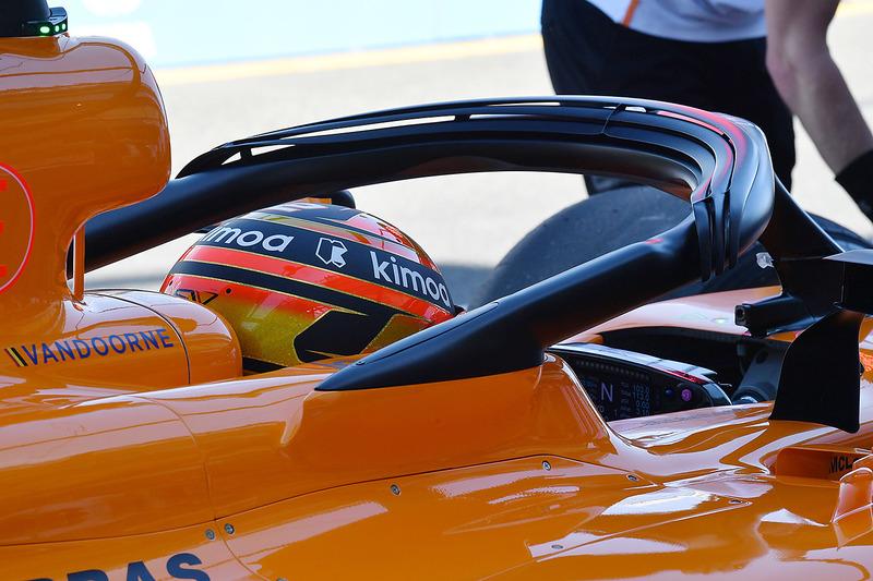 Halo McLaren MCL33