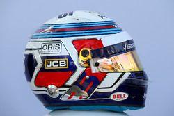 Sergey Sirotkin, Williams helmet