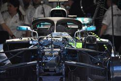 Mercedes-AMG F1 W09, dettaglio anteriore