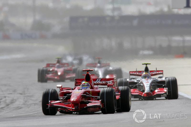 Em 2007, Massa dividiu o recorde de pole positions com Lewis Hamilton: seis para cada um.