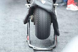 Detalle de llanta del Ganador, Andrea Dovizioso, Ducati Team