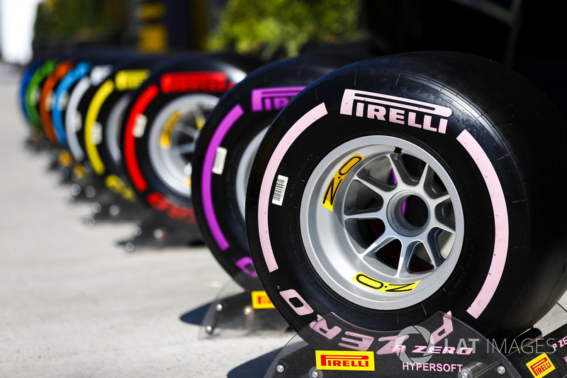 Tyre Line Up