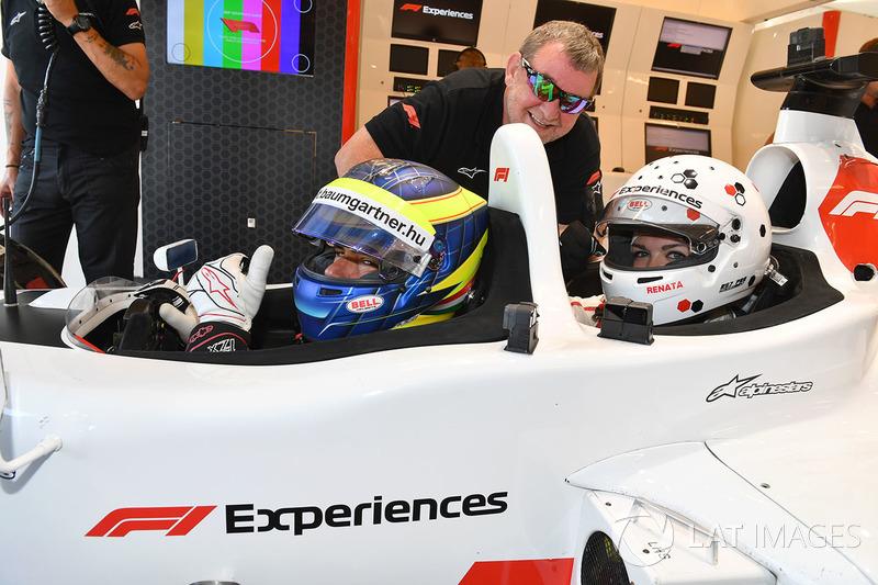 Zsolt Baumgartner, F1 Experiences 2-Seater driver and F1 Experiences 2-Seater passenger