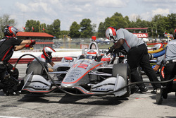 Will Power, Team Penske Chevrolet, pit stop, practice