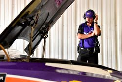 Denny Hamlin, Joe Gibbs Racing, Toyota Camry FedEx Express crew chief Mike Wheeler