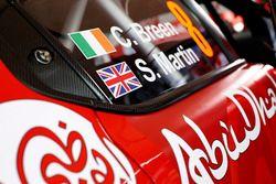 Car detail of Craig Breen, Scott Martin, Citroën C3 WRC, Citroën World Rally Team