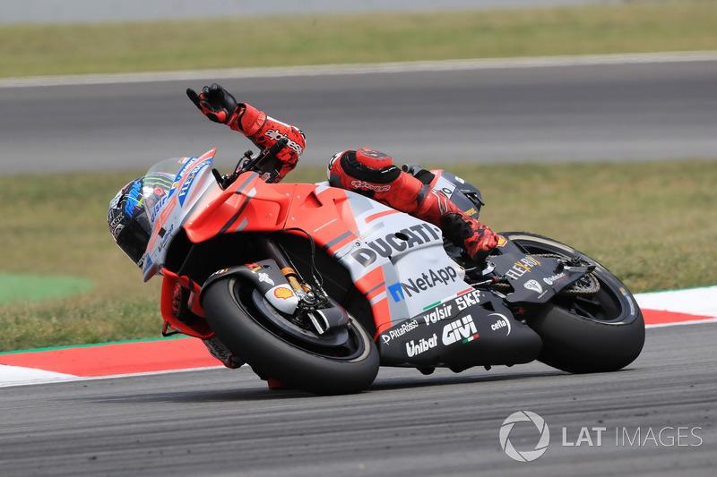 GP de Catalunya: Jorge Lorenzo, Ducati Team