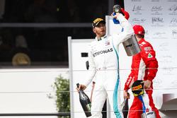 Lewis Hamilton, Mercedes AMG F1 op het podium