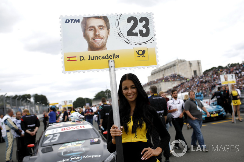 Grid girl of Daniel Juncadella, Mercedes-AMG Team HWA