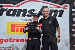 Jordan Bupp wins the Cool Shirt Cool Move of the Race Award