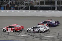 Ryan Blaney, Team Penske, Ford Fusion DEX Imaging Brad Keselowski, Team Penske, Ford Fusion Miller L