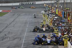 Alexander Rossi, Andretti Autosport Honda au stand