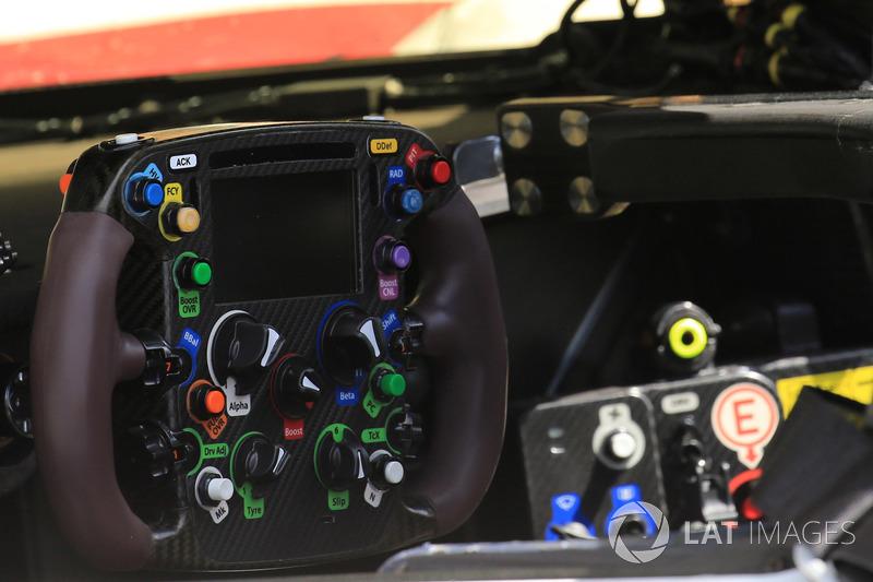 8 Toyota Gazoo Racing Ts050 Steering Wheel Detail
