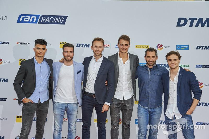 Pascal Wehrlein, Philipp Eng, René Rast, Nico Müller, Timo Glock, Lucas Auer
