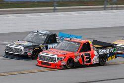 Cody Coughlin, ThorSport Racing Toyota, Parker Kligerman, Henderson Motorsports Toyota