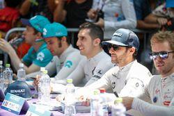 Oliver Turvey, NIO Formula E Team, Luca Filippi, NIO Formula E Team, Sébastien Buemi, Renault e.Dams