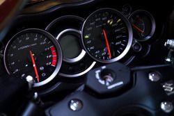 Detalle de la Suzuki Hayabusa