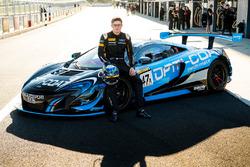 #47 YNA Autosport McLaren 650S GT3: Andrew Watson